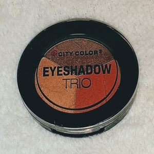 💋City Color Eyeshadow Trio 3for$15